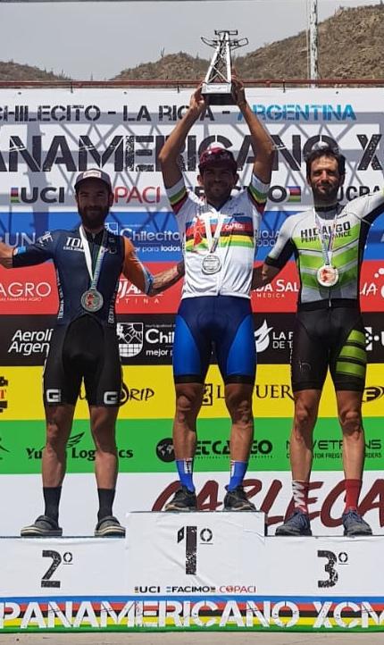 Juan Pablo Romero subcampeón Panamericano